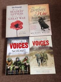 war books,all new