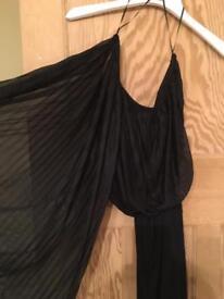 New topshop one shoulder jumpsuit