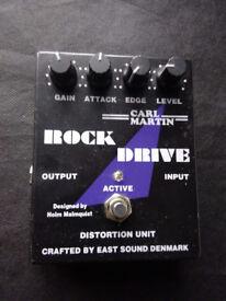 Carl Martin Rock Drive guitar effects pedal - overdrive
