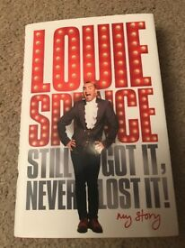 Louie Spence signed book