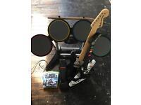 Rock band/Guitar Hero/Xbox 360