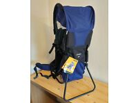 VANGO IMP Infant carrier with full canopy & Rain cover Navy Blue - UNUSED-