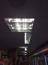 JOBLOT CEILING MICROLIGHT SIZE 600 X 600 AND SPORT LIGHTS
