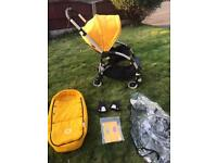 Immaculate bugaboo bee bright yellow with newborn cocoon yellow or pink