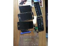 2 iPhones spare or repair