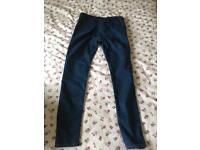 Topshop maternity jean leggings size 12