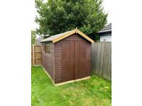 Quality refurbished garden sheds