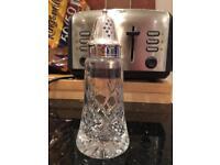 Glass sugar shaker