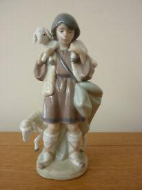 Lladro Shepherd Figurine