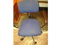 Used Computer chair blue