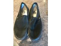 Vans slip on shoe uk size 10 used