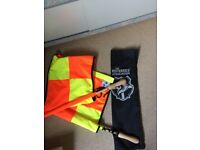 Linesman Flag Set - great condition