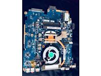 Motherboard with 2x2gb ram