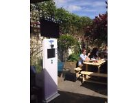 **FunPhotosUK> PHOTO BOOTH/POD FOR HIRE £199 4Hrs: for all AUGUST EVENTS offer ends 25th August