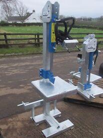 Log splitter, pto, engine or hydraulic powered, saw horse