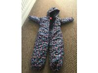 Girls next snow suit age 4-5 years
