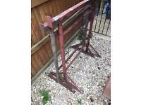 Metal builders trestles