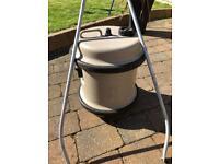 Aqua roll for caravan. 40 litres with handle.