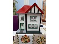 Hand Made Repaired 1950's Retro Dolls House