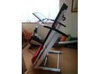 DKN EcoRun Folding Treadmill - Running Machine