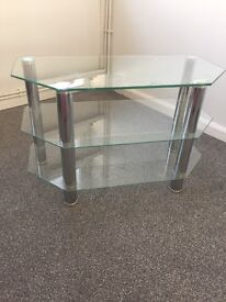 Glass TV stand £20 very good condition bargain price