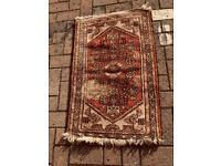 Small Iranian prayer rug