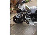 Suzuki bandit street fighter special edition 1250 cc - great condition. Urgent sale.