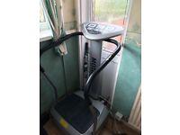 Motive fitness vibration machine