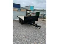 10ft x 5ft flat bed trailer