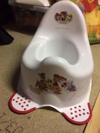 Paw patrol potty brand new