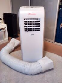 Nearly new portable remote controlled Inventor air con unit