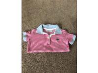 Girls Lacoste Polo Shirt