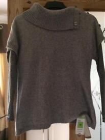 Cashmere mix jumper size 12 M&S BNWT