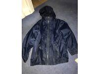Boy 9-10 year navy coat