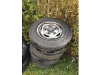 Transit wheel and tyre
