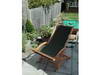 Deckchair/deck chair/ sun lounger
