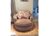 Scs corner sofa and chair