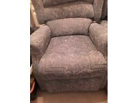 FREE!! 2 ELECTRIC RECLINING ARMCHAIRS WITH REMOTE CONTROL