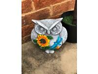 Owl garden ornament