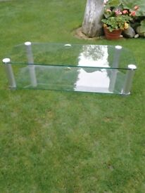 Glass TV Stand suit large TV