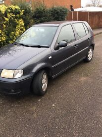 VW polo Xreg for sale, needs new clutch, open to offers