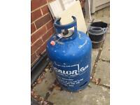 Large Full Calor 15kg Gas Bottle