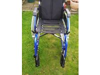 Selfpropelled wheelchair very good condition