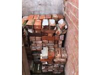 Reclaimed Bricks from old outhouses