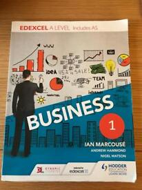 Business Year 1 Edexcel AS includes A Level