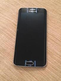 Samsung S6 Edge UNLOCKED MINT CONDITION SAPPHIRE BLACK