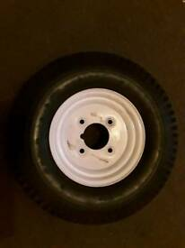 MP215 wheel and tyre trailer