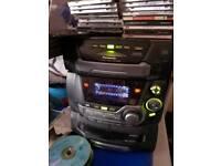 Panasonic 5disc multiplay hifi