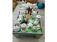 Vintage tea & coffee pots