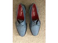 "Oliver Sweeney ""CHECK"" Men's Patent Leather Shoes (SIZE: 8 1/2)"